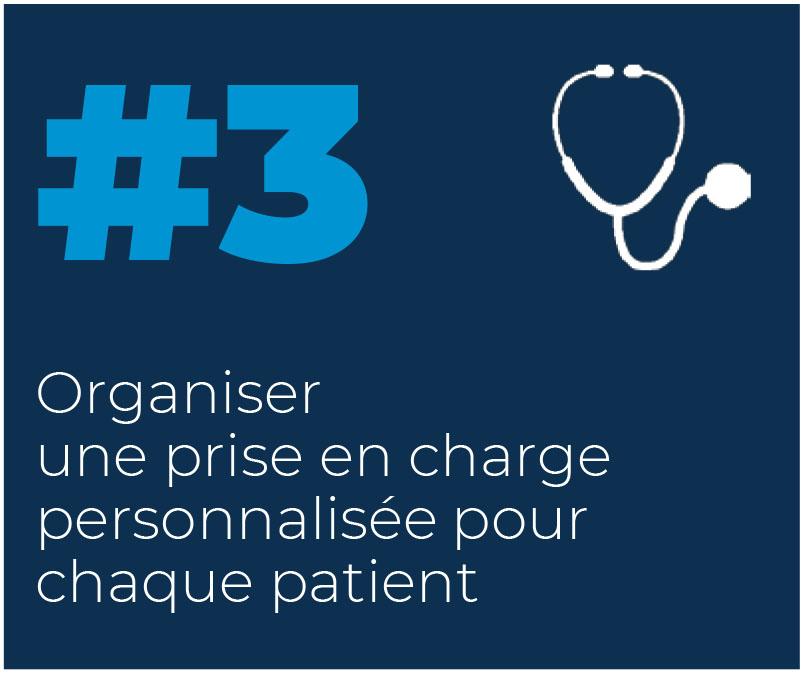 3. Organiser une prise en charge personnalisée pour chaque patient